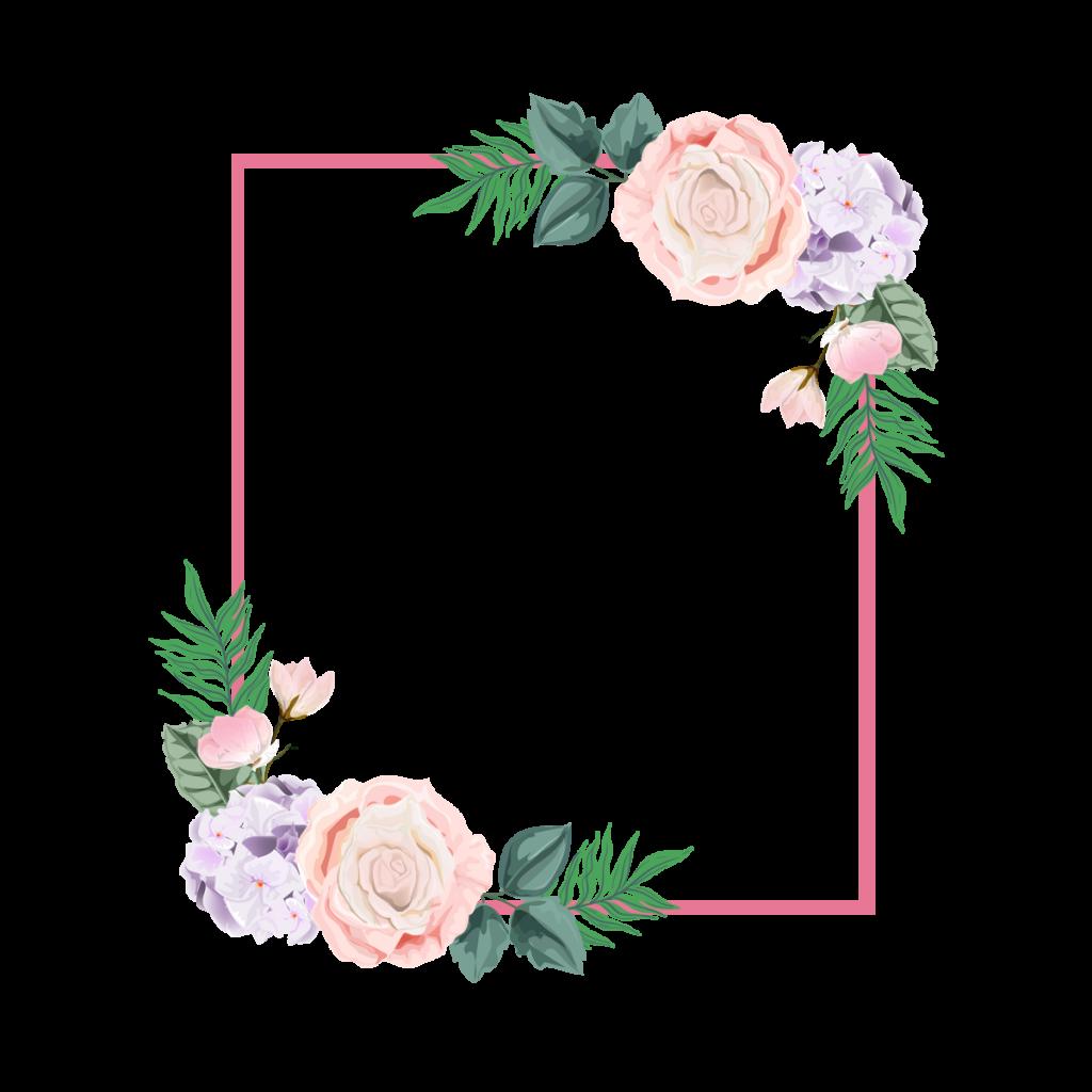 กรอบข้อความ ดอกไม้