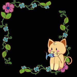 กรอบรูปการ์ตูน แมว