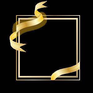 กรอบรูปทางการสีทอง