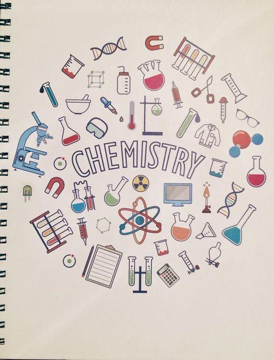 ตกแต่งใบงานเคมี สีไม้