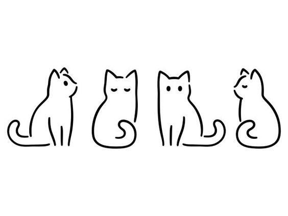 ตกแต่งใบงาน มินิมอล แมว