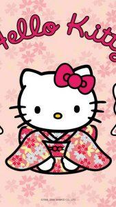 คิตตี้ใส่ชุดกิมโมโน